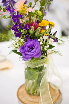 Wawona Hotel wedding, Yosemite California wedding, Cameron Ingalls photography, Cana VP...wildflower center pieces