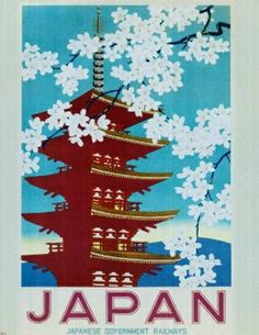 Vintage poster Japan - I have this at home