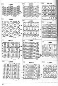 Every stitch pattern you can imagine and more besides :-)