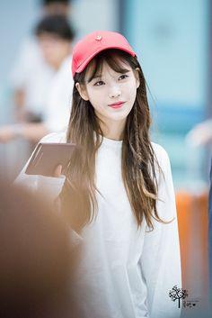 160821 IU @ Incheon Airport back from ChengDu
