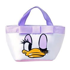 Daisy Duck Ribbon Tote Bag