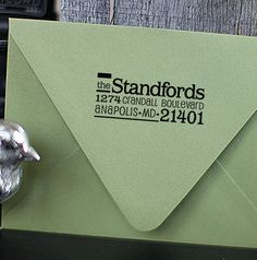Custom Address Stamp  Self Inking  Cute family by foryoo on Etsy, $29.95