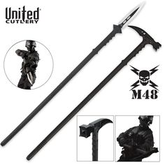 Tactical Survival Hammer And Hunting Spear Zombie Tactical Gear, Zombie Gear, Zombie Weapons, Tactical Knives, Zombie Apocalypse, Zombie Tools, Zombie Survival Gear, Weapons Guns, Survival Axe