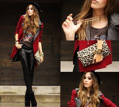 She Inside Coat, Romwe Pants, Merrin & Gussy Necklace | She's got it (by Flávia Desgranges van der Linden) | LOOKBOOK.nu