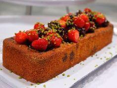 Cake de maíz y frutos rojos (apto celíacos)- Osvaldo Gross