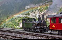 RailPictures.Net Photo: 6 Dampfbahn Furka Bergstrecke HG 2/3 at Gletsch…