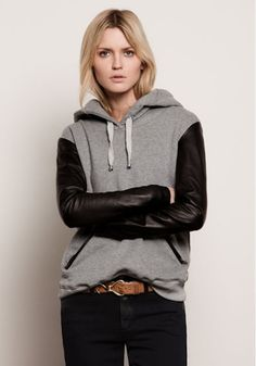 would love to do some leather sleeves diy on a bunch of old sweatshirts i have layin around.