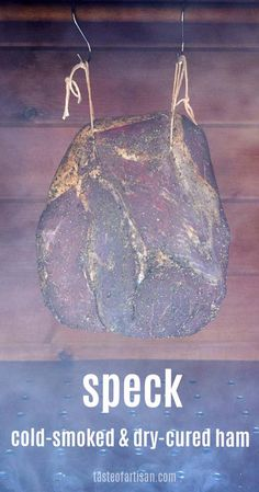 How to make traditional Italian speck - a de-boned ham that is cured, cold-smoked and dry-cured to perfection. Smoking Food, Smoking Recipes, Ham Recipes, Recipies, Braciole Recipe, Home Made Sausage, Charcuterie Recipes, Wood Projects That Sell