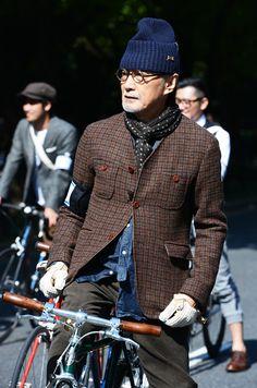 TOMMY TON, Tokyo Tweed run | Raddest Looks On The Internet: http://www.raddestlooks.net