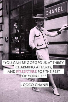 Quotes That Will Make You Feel Amazing The always beauty wise Coco Chanel. Inspiration for the day! be-The always beauty wise Coco Chanel. Inspiration for the day! Great Quotes, Quotes To Live By, Me Quotes, Inspirational Quotes, Style Quotes, Funny Quotes, Flirting Quotes, Amazing Quotes, Sassy Quotes
