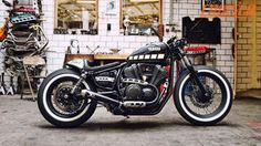 Yamaha's Yard Built program does it again with this classic Cafe Bob from Dirk Oehlerking of Kingston Customs