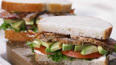 Panera Bread Roasted Turkey and Avocado BLT Sandwich