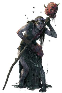 Witch by SkoLzki on DeviantArt Fantasy Rpg, Medieval Fantasy, Dark Fantasy Art, Fantasy World, High Fantasy, Character Portraits, Character Art, Character Concept, Forgotten Realms