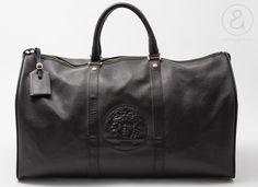 Image of Gianni Versace duffle Bag black medusa :: Vintage Bags/Travel