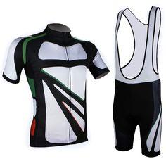 Traje de ciclismo Culotte bicicletas desgaste del deporte hombres de la camisa de Jersey