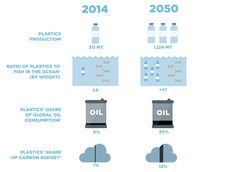 If Plastic Pollution is not Curbed in Time, then Plastic in Oceans Will Outweigh Fish by 2050