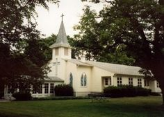 Chapel of the Nativity of the Ever Virgin Mary, Grass Lake, Michigan, most peaceful place on earth and where my parents are buried and headquarters for my church, Romanian Episcopate