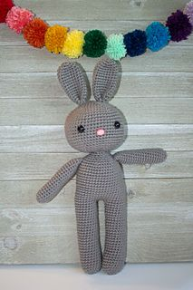 Crochet amigurumi Friendly Bunny Pattern