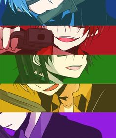 Assassination Classroom / naughty males, you all need a punishment ~ Karma Kun, Nagisa And Karma, All Anime, Manga Anime, Anime Art, Koro Sensei Quest, Nagisa Shiota, Anime Shows, Anime Comics