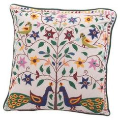 Refresh Your Sofa Or Master Bed With This Embroidered Cushion Cover Featuring A Charming Pea Conservatory Decorcushions Ukembroidered