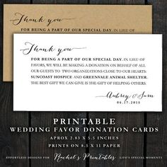 1000+ ideas about Donation Wedding Favors on Pinterest | Favors ...
