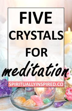 Meditating with crystals is one of the best ways to connect with their magical energies. Here are five crystals for meditation that are great for beginners. Meditation Crystals, Chakra Meditation, Mindfulness Meditation, Chakra Healing, Guided Meditation, Meditation Music, Healing Crystals, Meditation For Beginners, Meditation Techniques