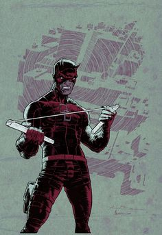 Daredevil by Andrei Bressan *