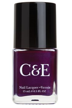 Fall Nail Polish Colors: Pomegranate Nail Lacquer from Crabtree & Evelyn