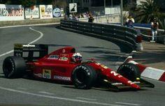 Alain Prost Ferrari f1 monaco gp 91
