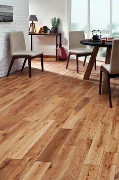 Parquet massif chêne 120 rustique - Saint Maclou Hardwood Floors, Flooring, Floor Colors, Entrance, Sweet Home, Lounge, Kitchen, Recherche Google, Dining Rooms