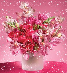 Happy Birthday Beautiful Sister, Happy Birthday Flowers Wishes, Happy Birthday Bouquet, Happy Birthday Greetings, Birthday Greeting Cards, Happy Mothers Day Images, Gifs, Picture Cards, My Favorite Color
