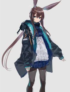 さくしゃ2 個展開催中! (@sakusya2honda) / Twitter Character Design, Character Illustration, Anime Neko, Girls Frontline, Anime Drawings, Anime Style, Cute Illustration, Anime Character Design, Cool Drawings