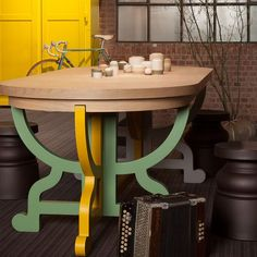 Moooi Paper Table Patchwork | Houseology