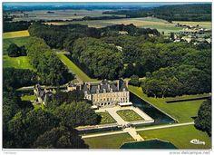 Frankreich - 91 - CHATEAU DE COURANCES par Milly la Forêt ( Lot de 2 CPSM CPM GF ) - Essonne