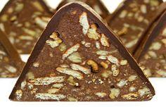 Tort de biscuiti piramida reteta video Nutella, Cheesecake, Desserts, Tailgate Desserts, Deserts, Cheesecakes, Postres, Dessert, Cherry Cheesecake Shooters