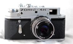 Zorki 4K The Comprehensive Guide to Vintage Film and Cameras
