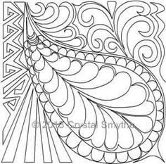 Zendoodle Tile 2 | Crystal Smythe | Digitized Quilting Designs