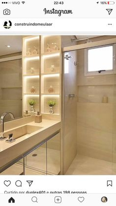 20 Modern Small Bathroom Furniture And Creative Decorating Ideas - 1 Decorate Modern Small Bathrooms, Dream Bathrooms, Modern Bathroom, Small Bathroom Furniture, Bathroom Storage, Bathroom Cabinets, Bad Inspiration, Bathroom Inspiration, Toilet Design