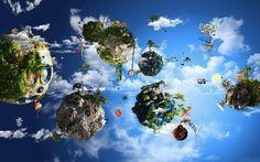 Personal Planets hd Desktop Wallpaper