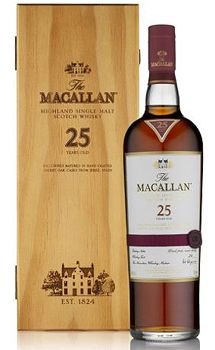 Macallan Sherry Oak 25 Year Old Whisky for sale in our online liquor store. Buy The Macallan Sherry Oak 25 Year Old Whisky online today Good Whiskey, Whiskey Drinks, Cigars And Whiskey, Bourbon Whiskey, Whiskey Bottle, Scotch Whisky, Fun Drinks, Alcoholic Drinks, Cocktails
