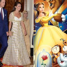 Pin for Later: 13 Kate Middleton Looks That Will Remind You of a Very Specific Disney Princess Kate as Belle