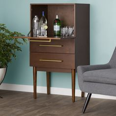 Found it at Wayfair.ca - Draper Bar with Wine Storage