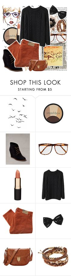 """""""64. Once Upon A Time."""" by hagar ❤ liked on Polyvore featuring Smashbox, Pull&Bear, H&M, Mimco, La Garçonne Moderne, Denim & Supply by Ralph Lauren and Aspinal of London"""
