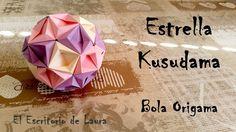 Estrella Kusudama - Bola Origami