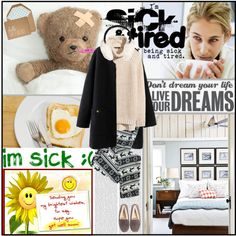 """I'm sick :( see you...."" by chareznasheer on Polyvore"