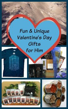 Each of these fun and unique Valentine's Day gift ideas are sure to bring a smile to the face of the special man in your life!  From one-of-a-kind experiences to gastro delights, you'll find the right gift for your guy!
