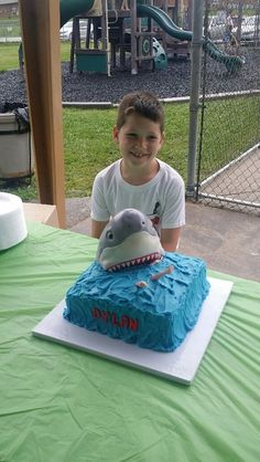 Thank you to April Faxon of April Faxon Confections in Kingsport, KY for this awesome #shark cake for Dylan!   https://www.facebook.com/pages/April-Faxon-Confections/773452609388504?ref_type=bookmark   #BakingADifference #Icing Smiles   For information about our State Sponsorship plan, please follow this link: http://www.facebook.com/icingsmiles/app_406294156110267.