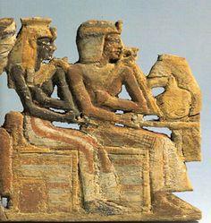 Queen Ahmose-Nefertari and Pharaoh Ahmose I