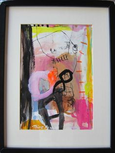 Abstract art by Trine Panum