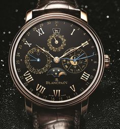 Blancpain - Traditional Chinese Calendar for ONLY WATCH 2015  #Blancpain #luxury #watches